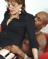 Milfs share black cock