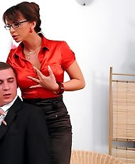 Boss gets in trouble after he sexually harasses his assistant.